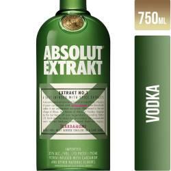 Vodka Extrakt Absolut x 750 cc.