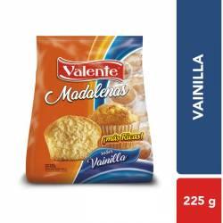 Madalenas Vainilla Valente x 225 g.