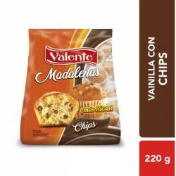 Madalenas c/Chips Chocolate Valente x 225 g.