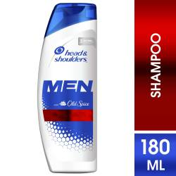 Shampoo Control Caspa Men Old Spice Head Shoulders x 180 cc.