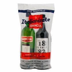 Americano Gancia + Fernet 1882 x 1 un.