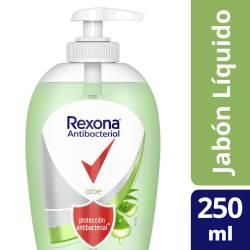 Jabón Líquido para Manos Aloe Disp Rexona x 250 g.