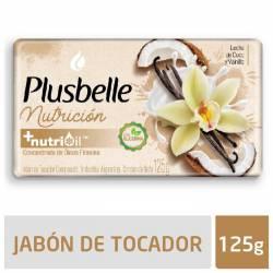 Jabón Tocador Sensación Nutritiva Plusbelle x 125 g.