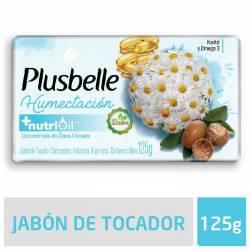 Jabón Tocador Humectante Cremoso Plusbelle x 125 g.