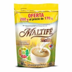 Malta Tostada Instantánea Dp Oferta Maltife x 200 g.