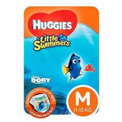 Traje Baño Descartable Unis. M Little Swimm Huggies x 11 un.