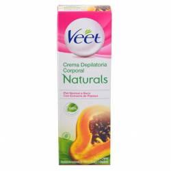 Crema Depilatoria Corporal Naturals Veet x 100 cc.