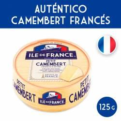 Queso Petit Camembert Ile de France x 125 g.