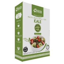 Pasta Multicereal con Kale Fusilli Wakas x 250 g.