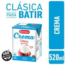 Crema de Leche La Serenísima x 520 cc.