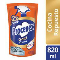 Limpiador Líquido Cocina Gold Dp Procenex x 820 cc.