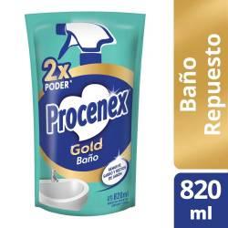Limpiador Líquido Baño Gold Dp Procenex x 820 cc.