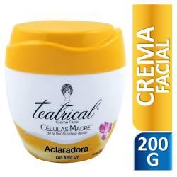 Crema Facial Aclaradora Teatrical x 200 cc.