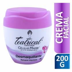 Crema Facial Desmaquillante Teatrical x 200 cc.