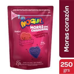 Pastillas de Goma Moras Corazón Mogul x 250 g.