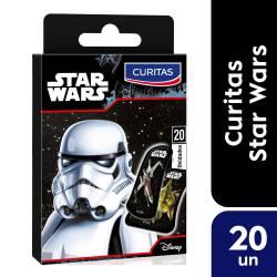 Apósitos Infantiles Star Wars Curitas x 20 un.
