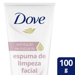Espuma de Limpieza Facial Exfoliante Revitalizante Dove x 100 g.
