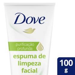 Espuma de Limpieza Facial Purif Prof. Dove x 100 g.