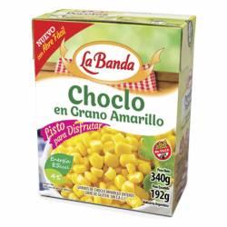 Choclo en Grano Amarillo Brick La Banda x 340 g.