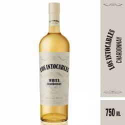 Vino Blanco Chardonnay White Los Intocables x 750 cc.