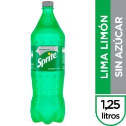 Gaseosa Lima Limón s/Azúcar Pet Sprite x 1,25 Lt.