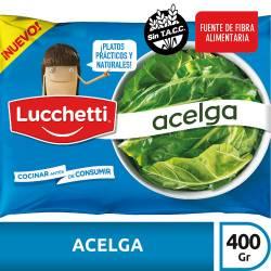 Acelga Congelada Lucchetti x 400 g.