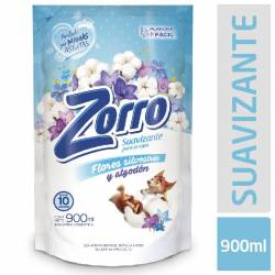 Suavizante La Ropa Flores Silvestres Doy Pack Zorro x 900 cc.
