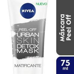 Máscara Detox Peel Off Matificante Nivea Face x 75 cc.