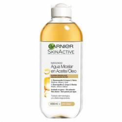 Agua Micelar Aceite/Oleo Skin Act. Garnier x 1 un.