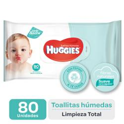 Toallitas Húmedas Limpieza Total Huggies x 80 un.