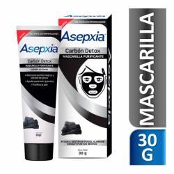 Mascarilla Carbón Detox Asepxia x 30 g.