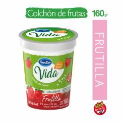 Yogur Descremado c/Colchón de Frutilla Sancor Yogs x 160 g.