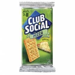 Galletitas Saladas sabor Pizza X6U Club Social x 141 g.
