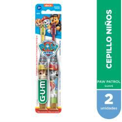 Cepillo Dental Suave Paw Patrol Gum x 2 un.