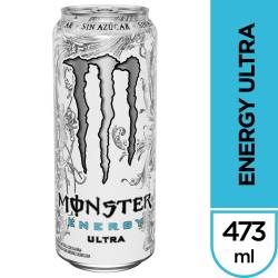 Bebida Energizante Energy Ultra Monster x 473 cc.