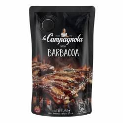 Salsa Barbacoa Libre de Gluten Dp La Campagnola x 250 g.