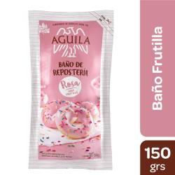Baño de Repostería Rosa s/Frutilla Águila x 150 g.