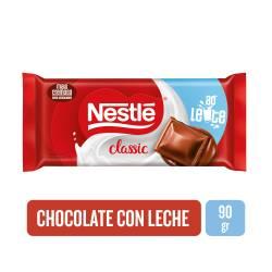 Chocolate c/Leche Clásico Nestlé x 90 g.