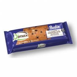 Budín de Vainilla c/Chips de Chocolate Dimax x 185 g.