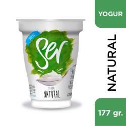 Yogur Endulzado Natural Ser x 177 g.