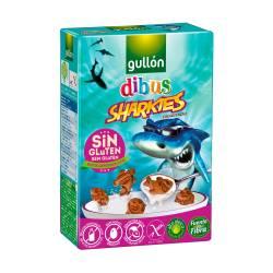 Galletitas Chocolate Sharkies s/Gluten Gullón x 250 g.