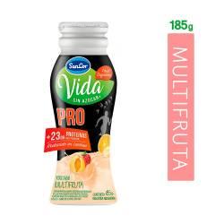 Yogur Descremado Bebible Pro Multifruta Bot Sancor Vida x 185 g.