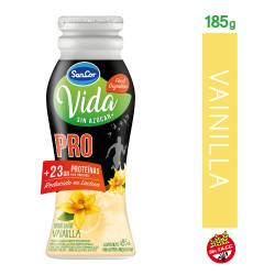 Yogur Descremado Bebible Pro Vainilla Bot Sancor Vida x 185 g.