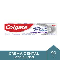 Crema Dental Sensitive Pro Alivio Blanqueadora Colgate x 90 g.