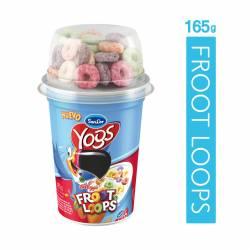 Yogur Entero c/Cereales con Froot Loops Sancor Yogs x 165 g.