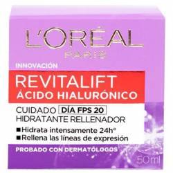 Crema Antiarrugas Revitalift Hialuro Día Loreal x 50 cc.