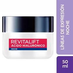 Crema Ant. Revitalift Hialuro Noche Loreal x 50 cc.