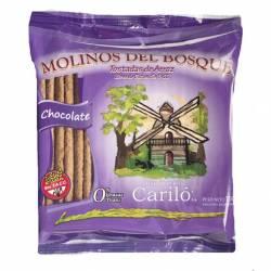 Tostada de Arroz Chocolate Molinos del Bosque x 150 g.