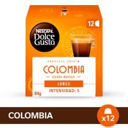 Café Tostado en Capsula Lungo Colom Nescafé  Dolce Gusto x 12 un.