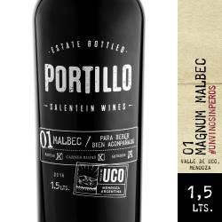Vino Tinto Malbec Portillo x 1,5 Lt.
